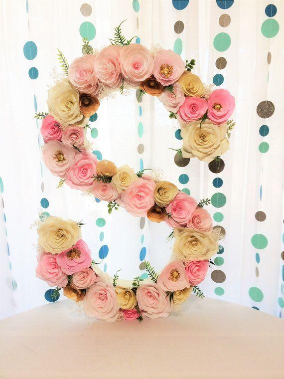 Resultado De Imagen Para Letra S Con Flores D  Manualidades