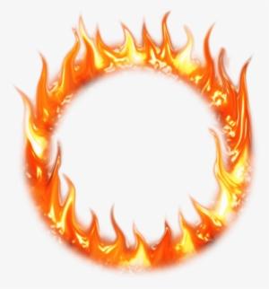 Svg Clipground Transparente Moldura De Circulo De Fogo Transparente 1285339 Fire Icons Circle Fire