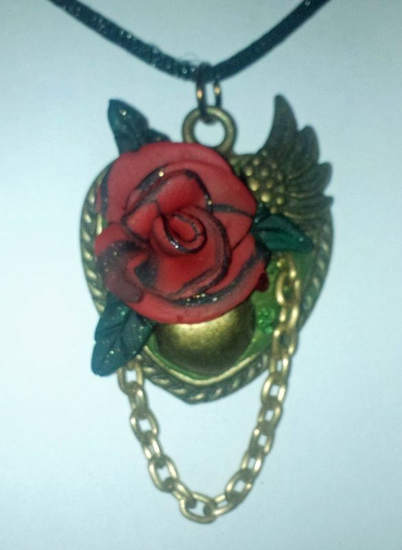 Perfume pendants demon dogs bootique perfume pendants what is a perfume pendant it is a pendant with a polymer clay bead that defuses perfume while your wear it add some of your favorite perfume in the middle aloadofball Images