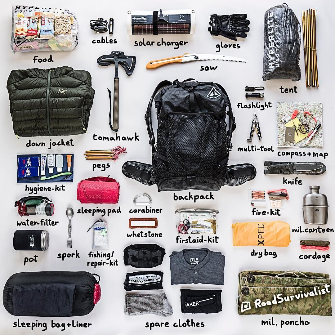"Road Survivalist (@roadsurvivalist) on Instagram: ""You have to leave your house immediately! Which 5 items would you grab in a disaster/#shtf…"" #survivalbags #wintersurvivalsupplies"