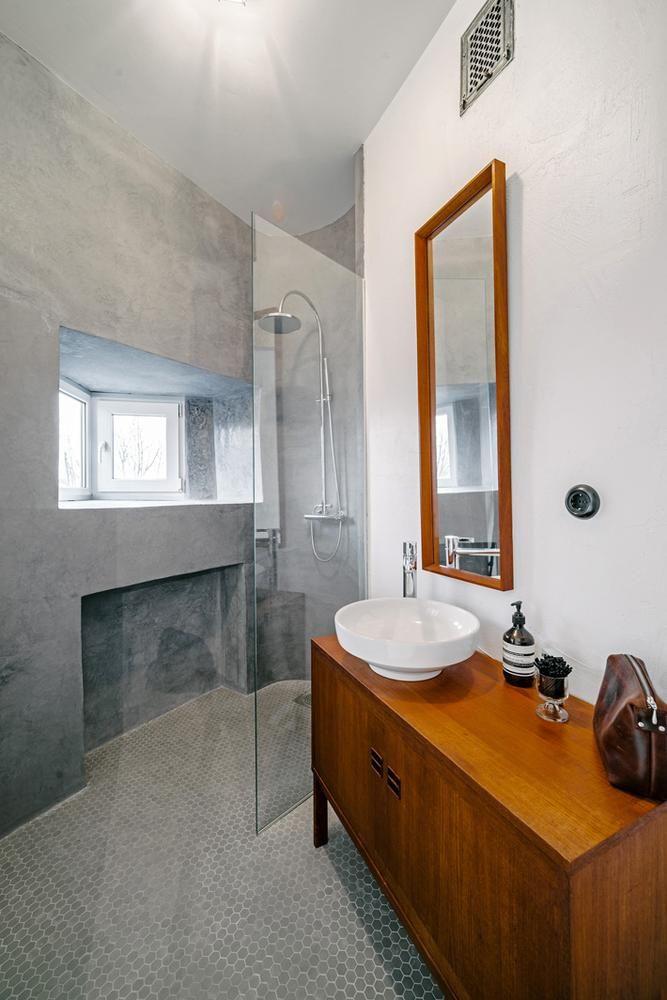 Originelle 30er Jahre Architektenwohnung Neu Renoviert Badezimmer