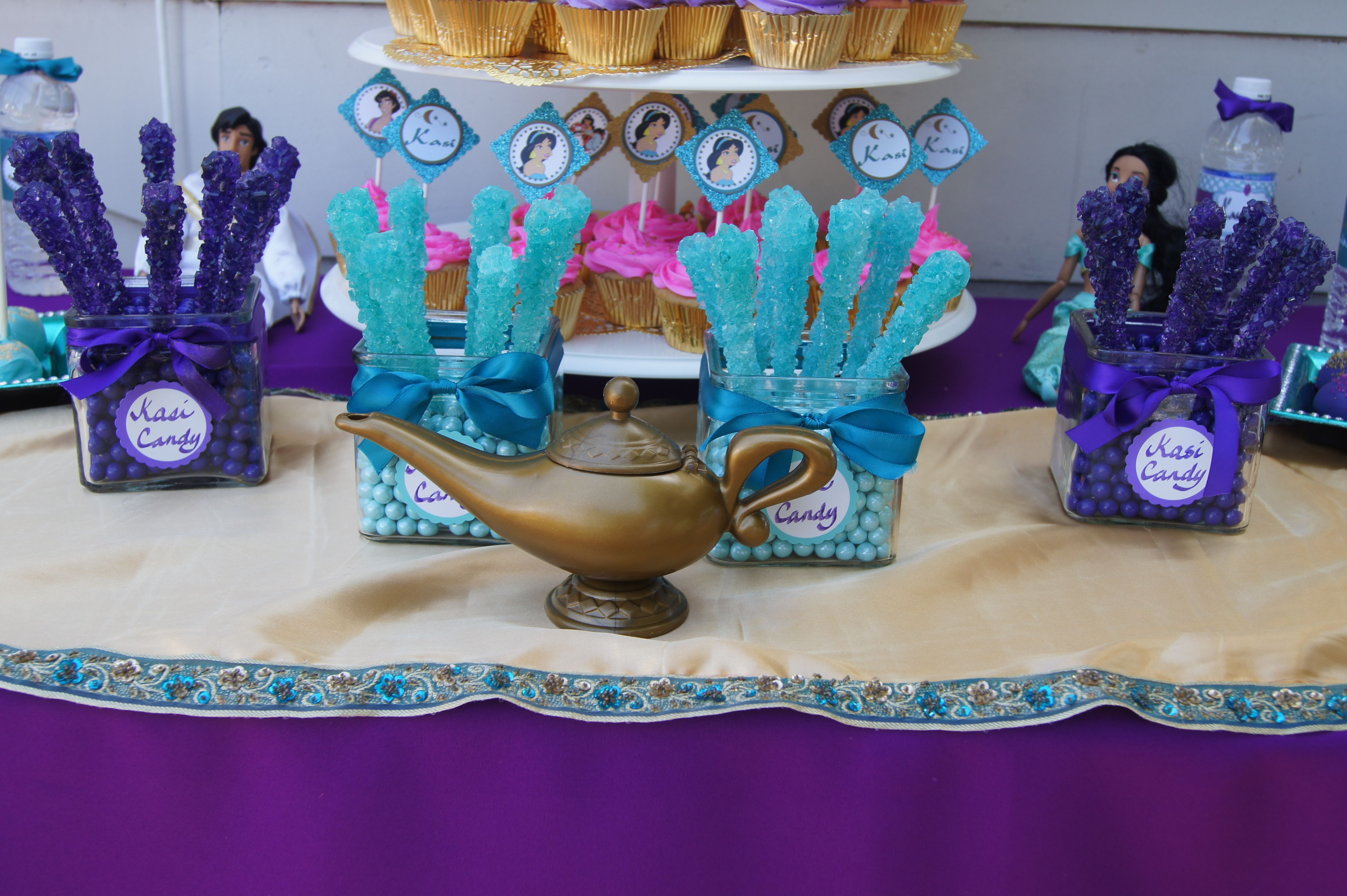 Kasandra's Princess Jasmine Arabian themed party   Party ...