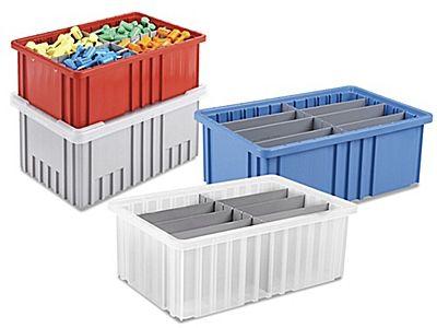 Divider Boxes, Plastic Divider Box in Stock - ULINE