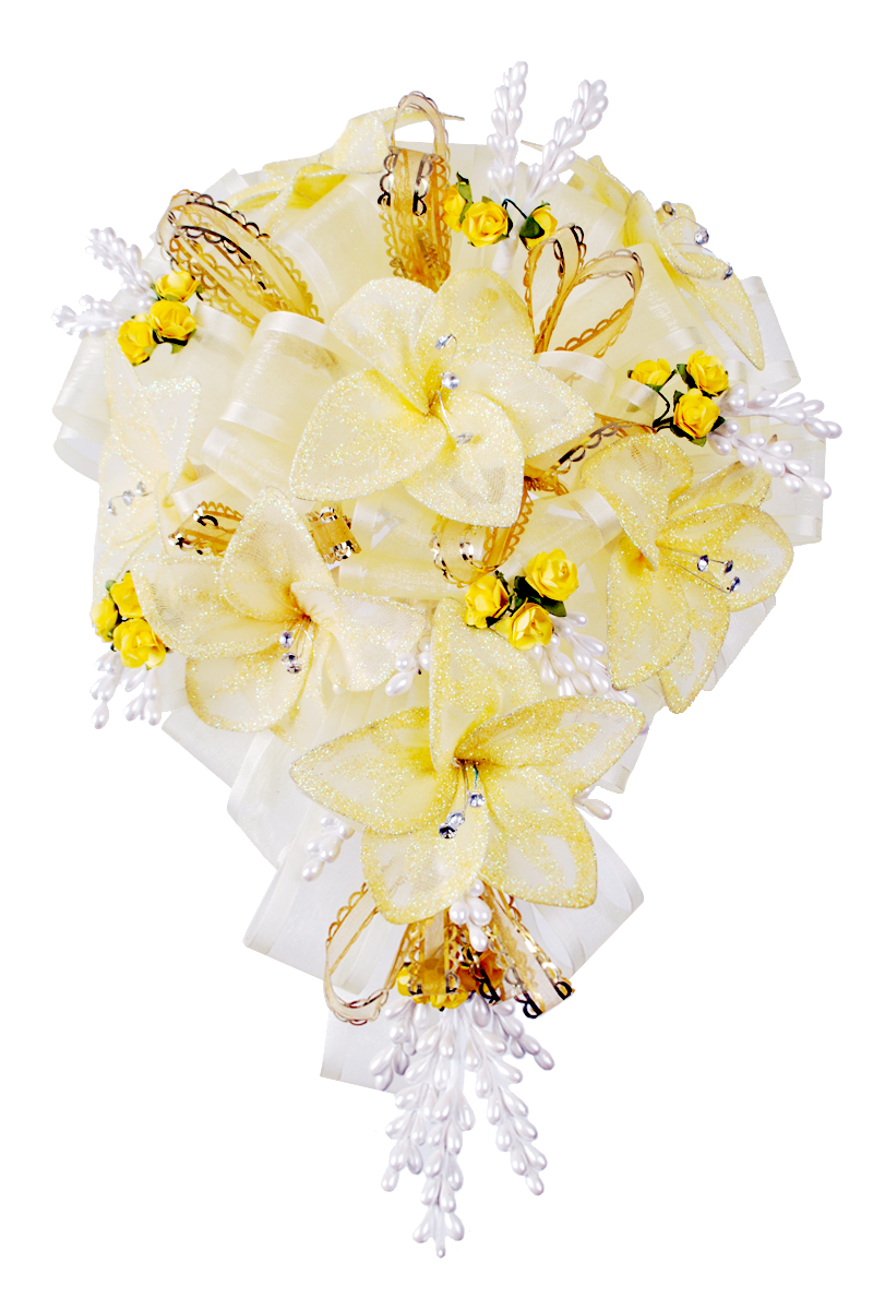 Bright And Beautiful Yellow Flower Bouquet Misquince Misxv