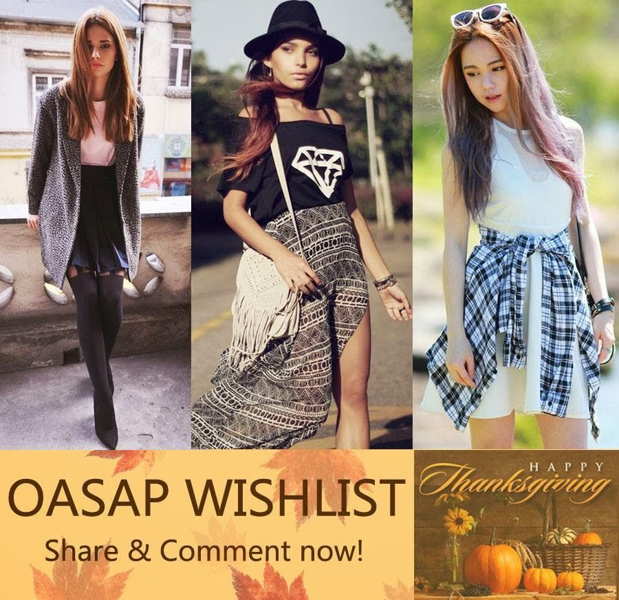 The Red Lil' Shoes: Concurso// Contest OASAP Wishlist!!