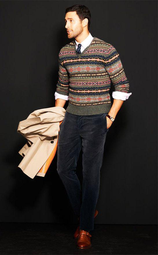 e26d742c GQ Selects: Ralph Lauren's Modernized Fair Isle | Stuntin Is A Habit |  Fashion, Mens fashion:__cat__, Mens suits