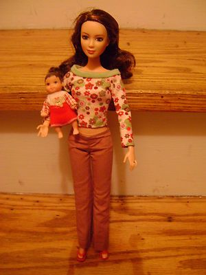 Barbie Happy Family Neighbor Lea and Baby | eBay