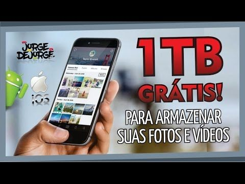 Adeus Cartao De Memoria 1tb Gratis Android E Ios Youtube