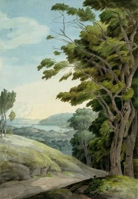 francis towne - view from rydal park