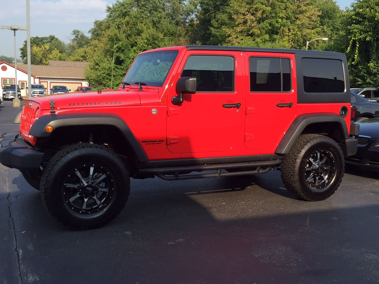 firecracker red! #jeep #rubicon #musthave | jeep life | pinterest