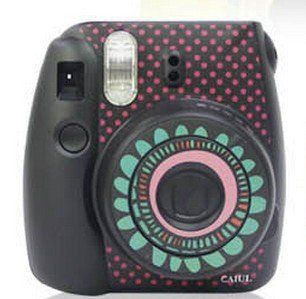 Amazon Com Fujifilm Instax Mini 8 Colorful Diy Sticker Protection
