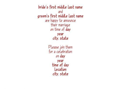 Rustic Wedding Invitation Wording Samples – Reception Party Invitations