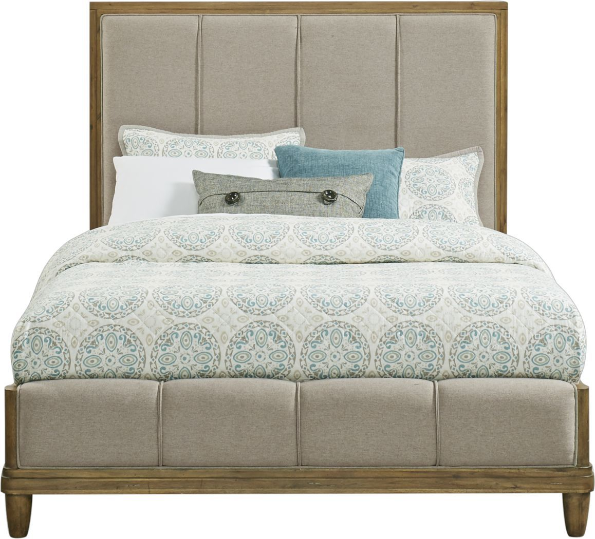 Cindy Crawford Home Aspen Lakes Hickory 3 Pc Queen Upholstered Bed