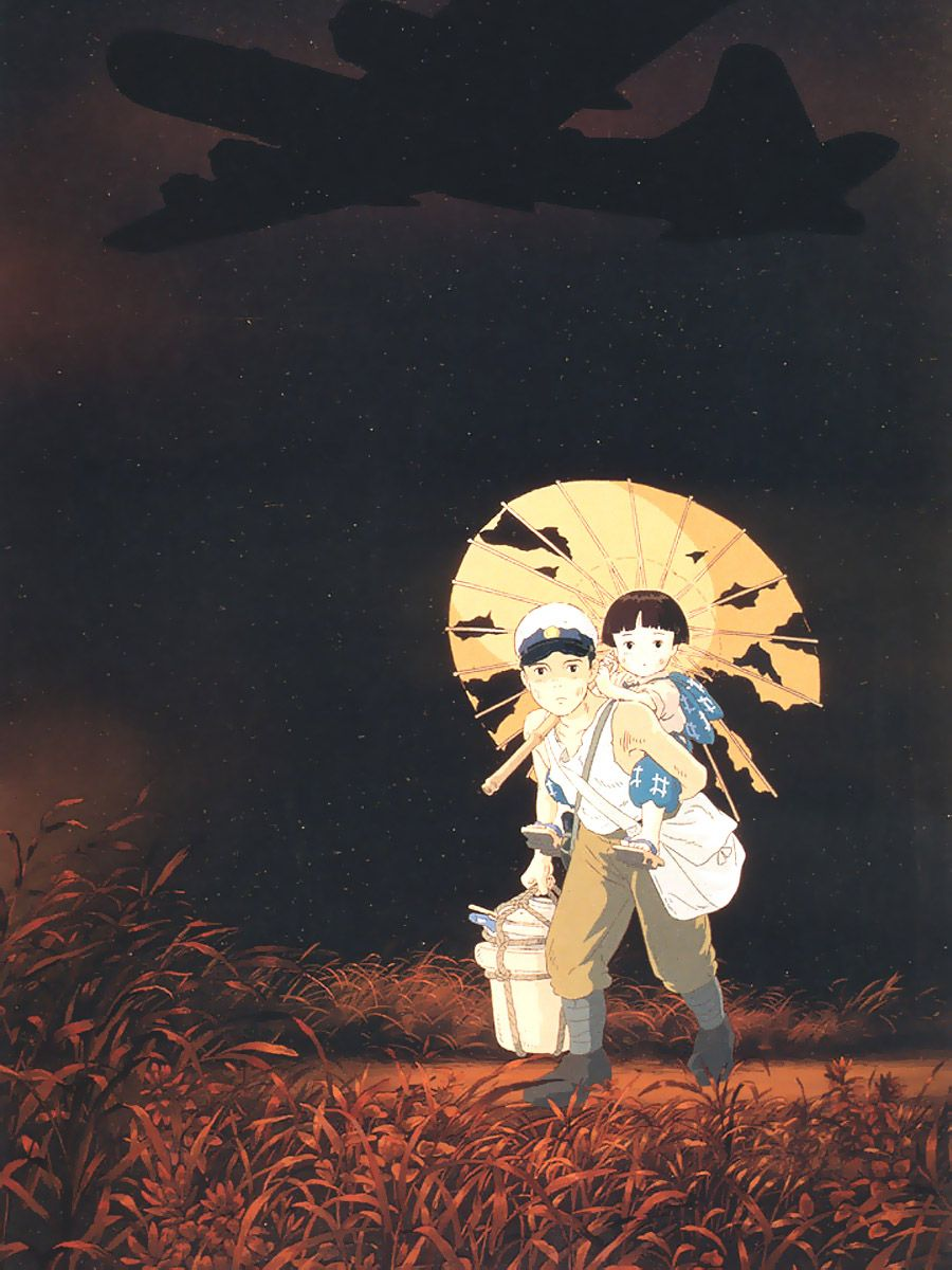 Download Grave of the Fireflies Hotaru no Haka poster