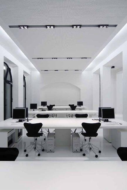 Open office Détail de plafond Détail d