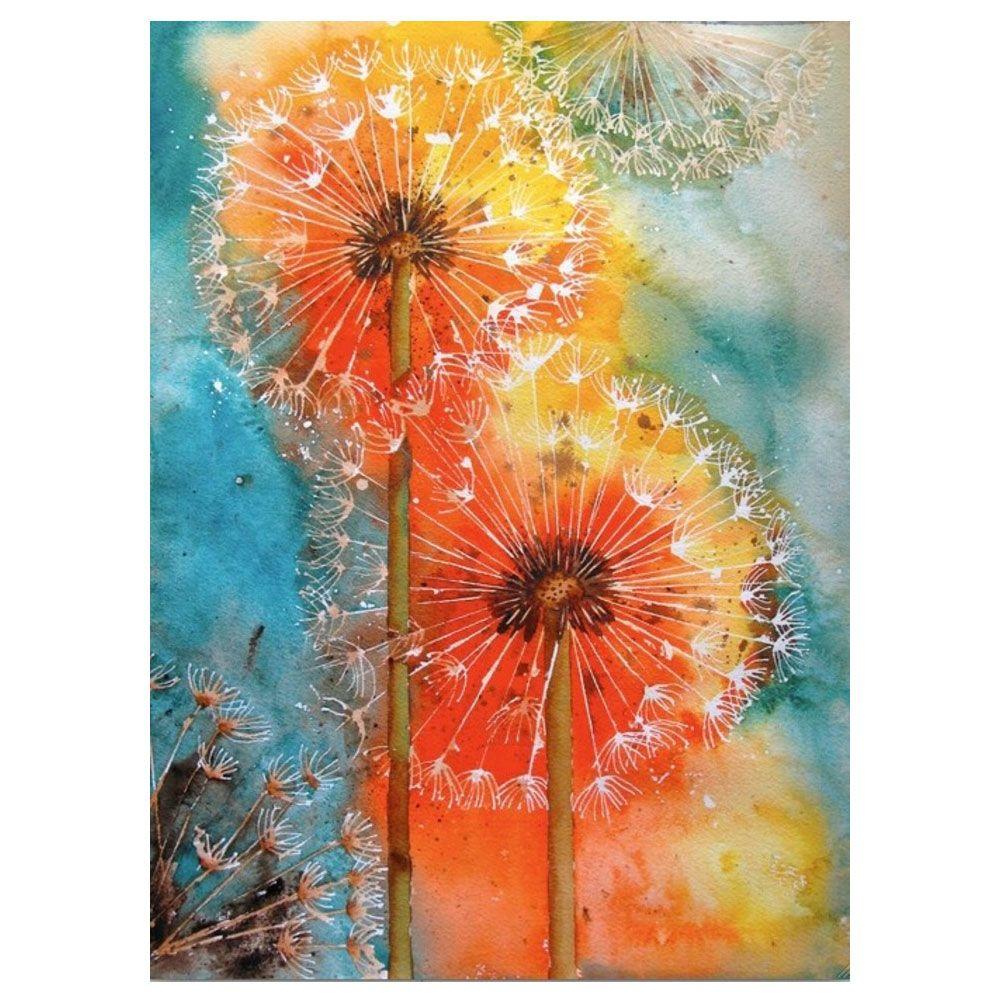 Dandelion Cizim Egitimleri Soyut Sanat Tablolari Sanatsal Resimler
