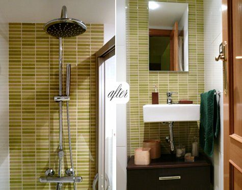 Before After Small Bathroom
