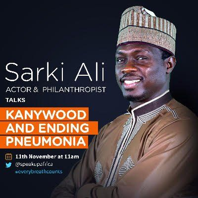 Actor Sarki Ali to Talk Kanywood & Ending Pneumonia on Twitter #EveryBreathCounts https://t.co/hCMjPAfm6D https://t.co/iCrelmfv86