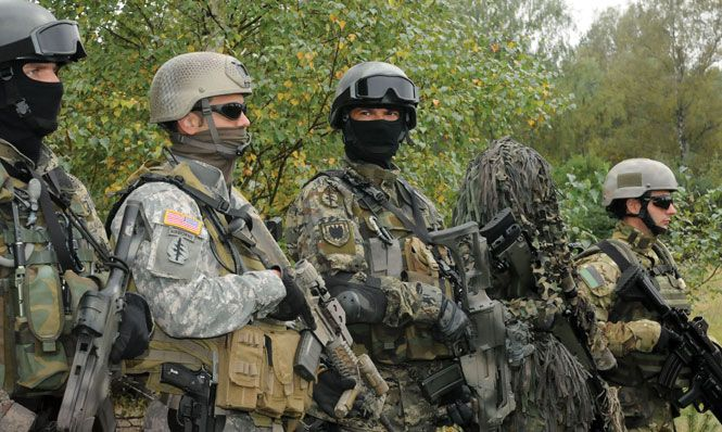 9448c93482 U.S. Special Operations Forces participated in exercise Jackal Stone 10  with special forces from several European countries  U.S. Army (Donald  Sparks)