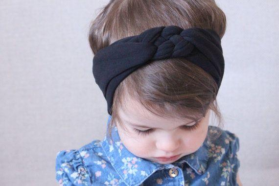 Baby Knot Headband Braid Headband Purple Headband Purple Headband Infant Headbands Celtic Knot Headband Toddler Headband