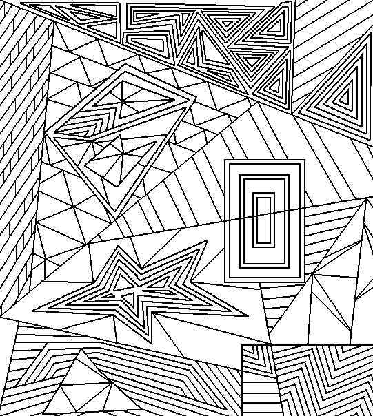 Abstract Lineart 5 By Drachenlilly Abstract Coloring Pages Coloring Pages Abstract