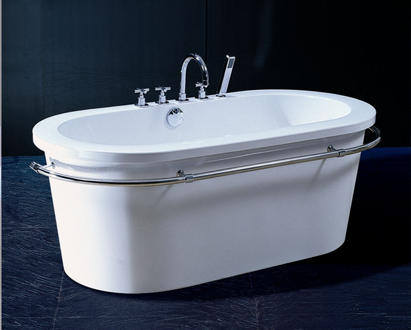 Aquatica Group Oval Acrylic Bathtub - PURESCAPE 303 SKU #: XAI1021 ...