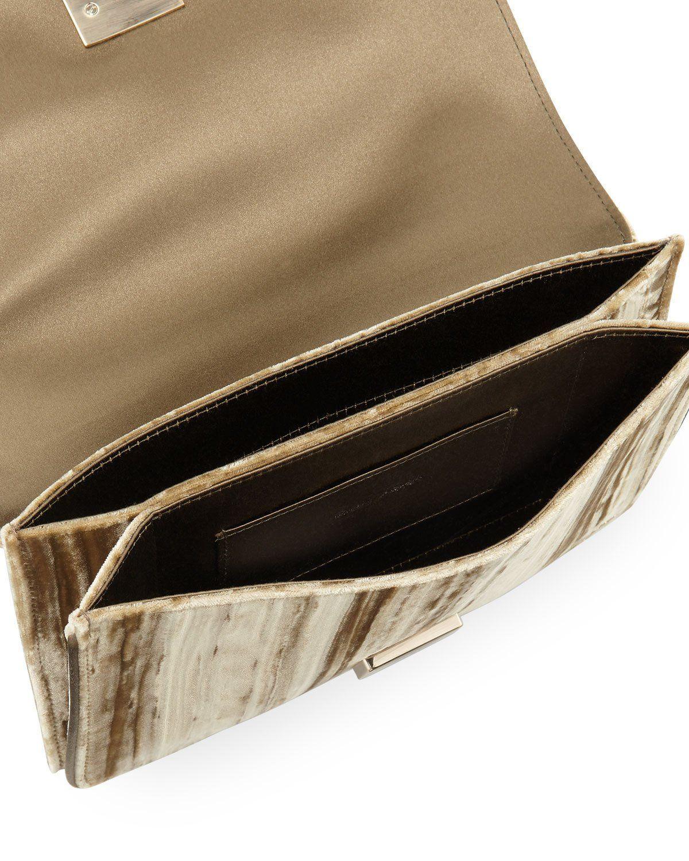 146d189f16 Roger Vivier Club Chain Velvet Tassel Evening Clutch Bag