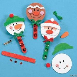manualidades de navidad para decorar el abeto navideo - Trabajos Manuales De Navidad