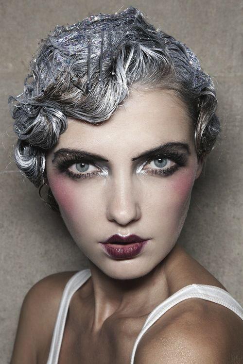 Pingl par laetitia lefebvre sur makeup pinterest - Maquillage annee 20 ...