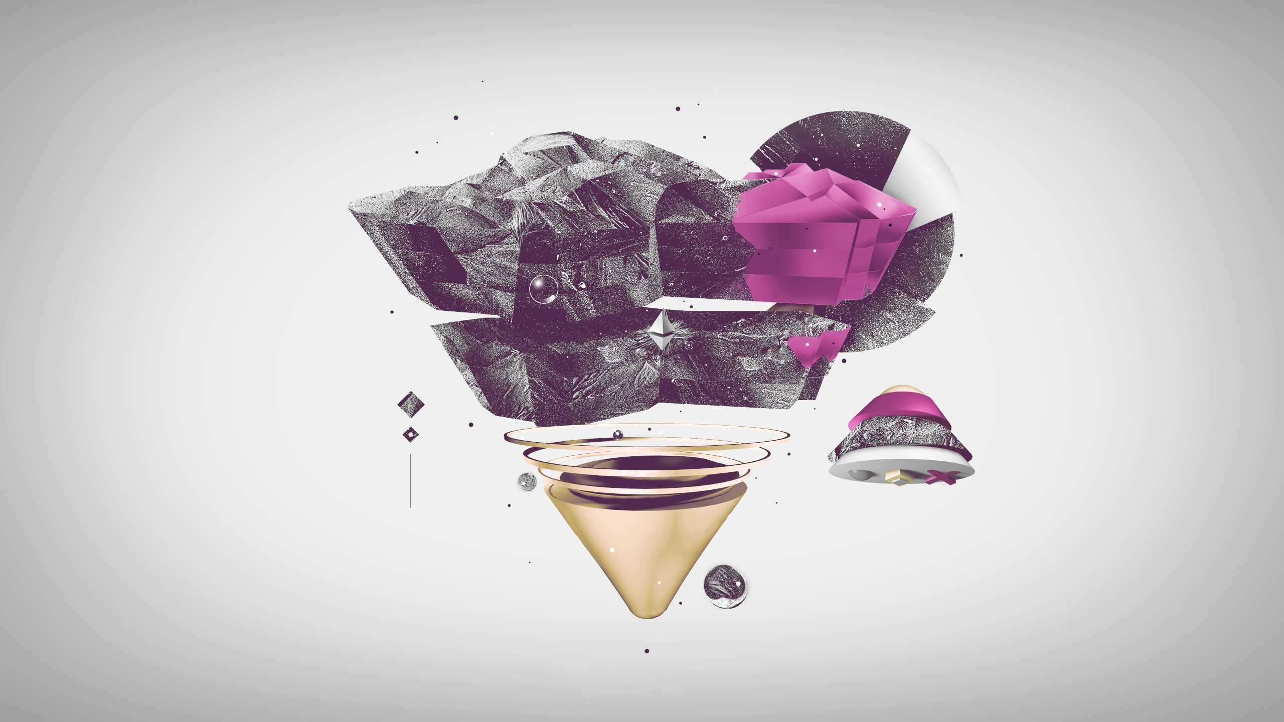 Wallpaper Triangle Pyramid Black Pink | Design | Pinterest ...