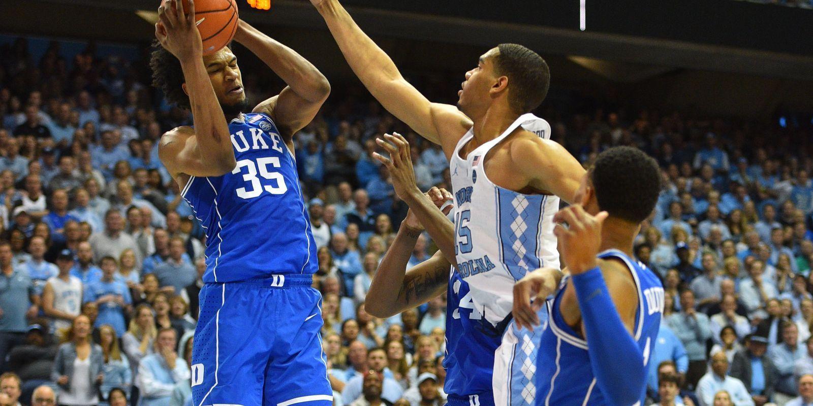 DukeNorth Carolina highlights top college basketball