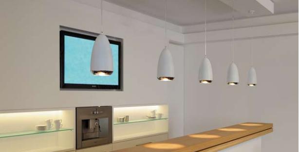Las lámparas colgantes más decorativas para la cocina