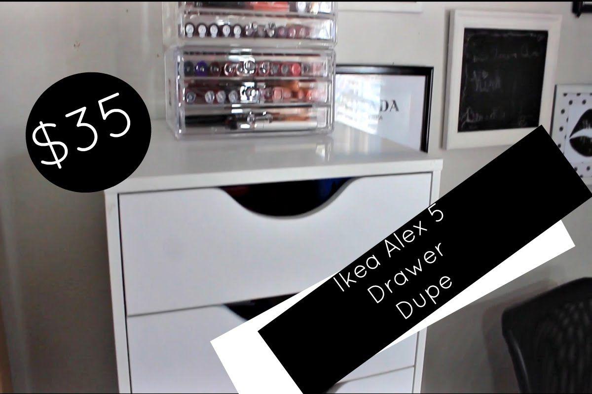 35 Ikea Alex 5 Drawer Dupe