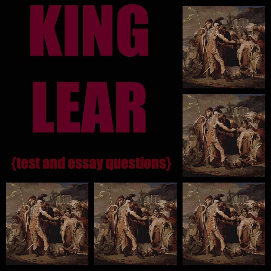 king lear imagery essay