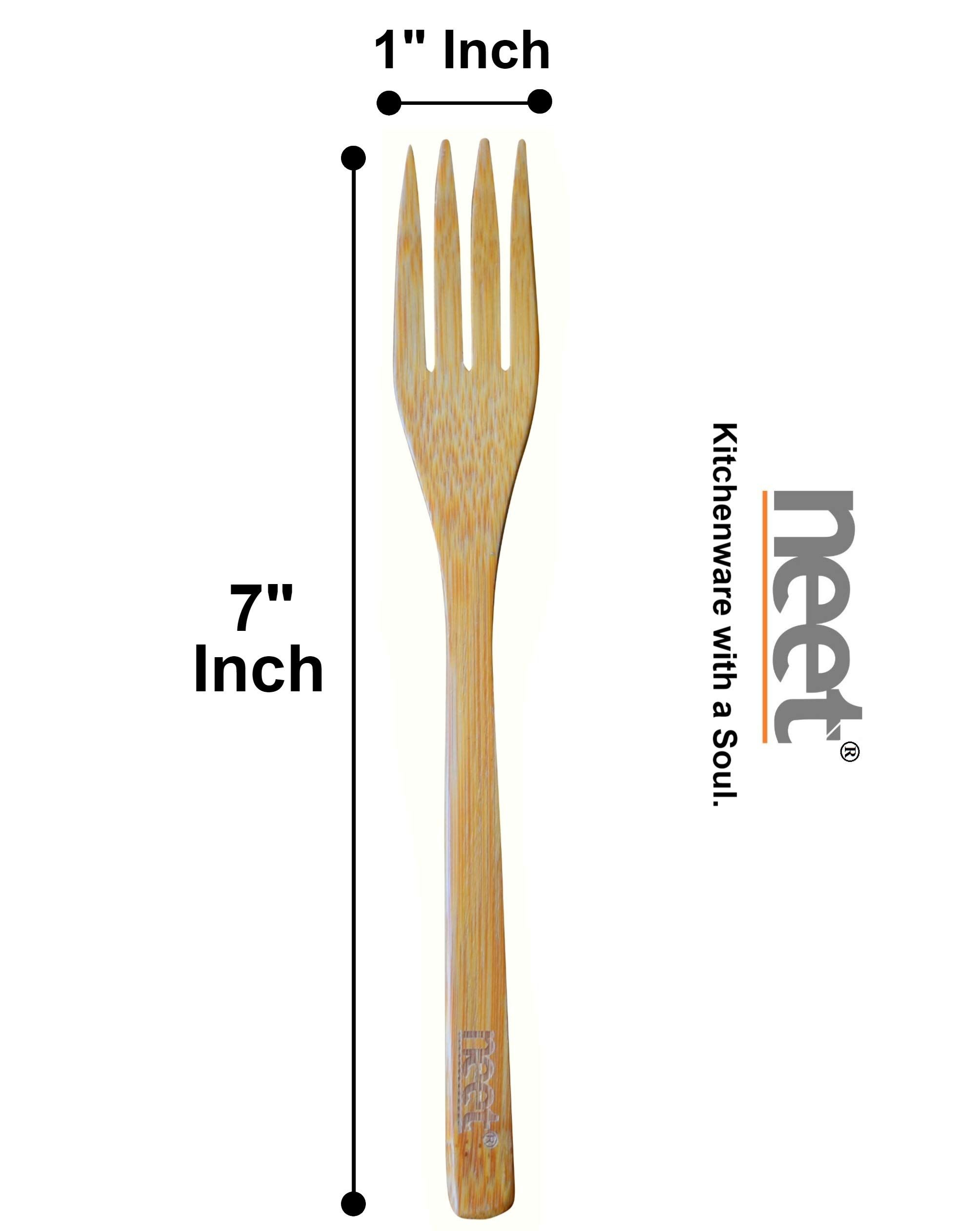 Reusable Wooden Forks 12 Piece Set For Eating Bamboo Fork Dinning Flatware Eco Friendly Tableware Kitchen Utensil Wood Utensils Kitchen Utensils Wooden Fork