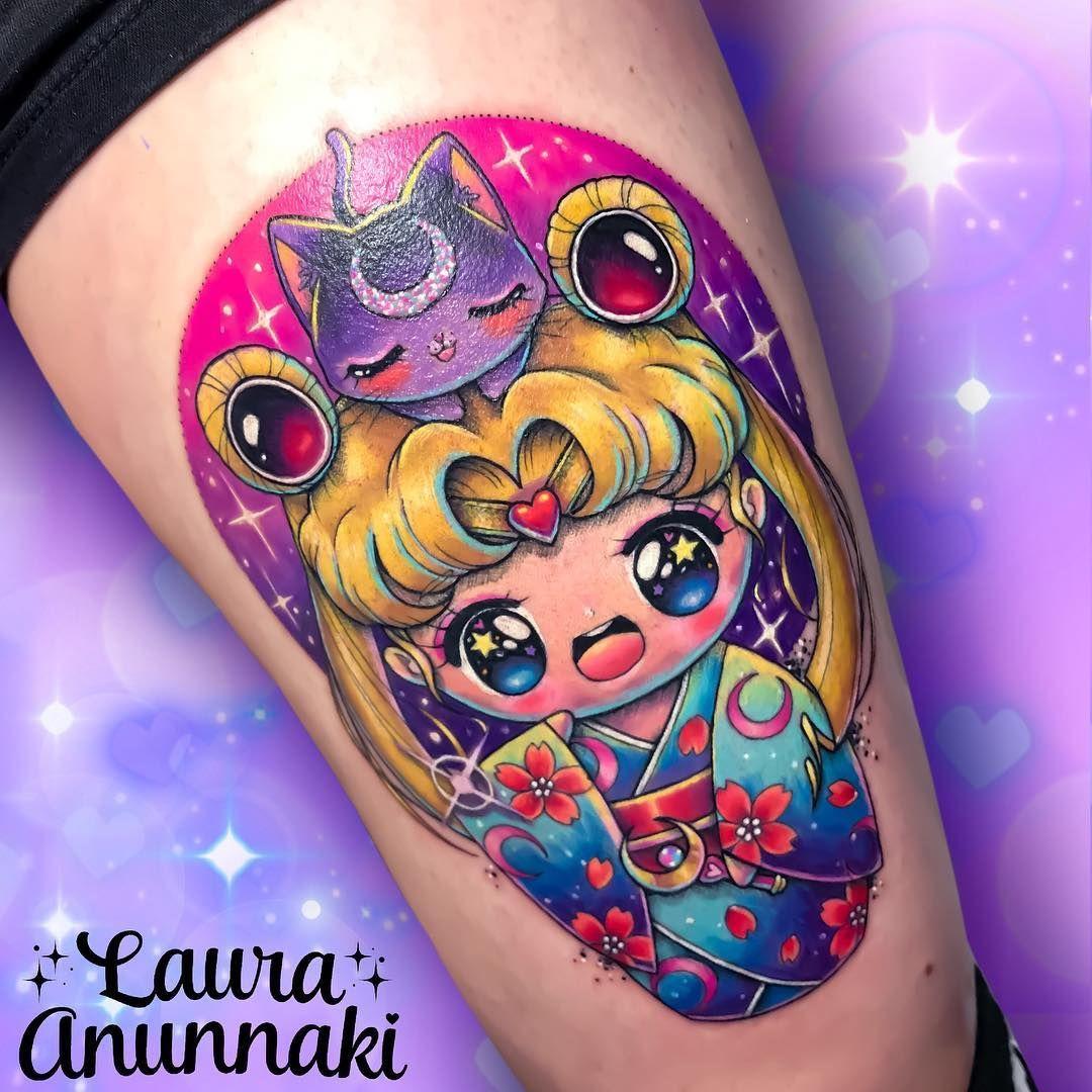 Pin By Laura Kuley On Tattoo: Kawaii Tattoos By Laura Annunaki