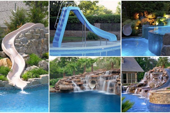 Home Swimming Pool Body Water Slide Swimming Pool House Water