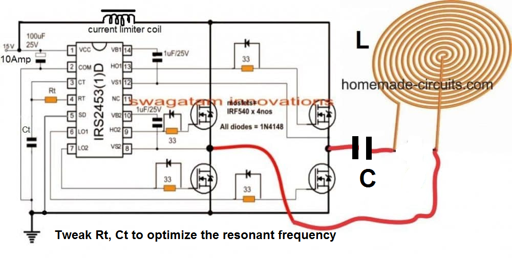 How to Design an Induction Heater Circuit | Homemade ...