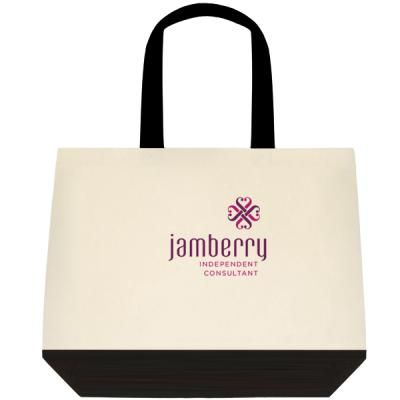 The two-tone deluxe tote offered by Vistaprint!