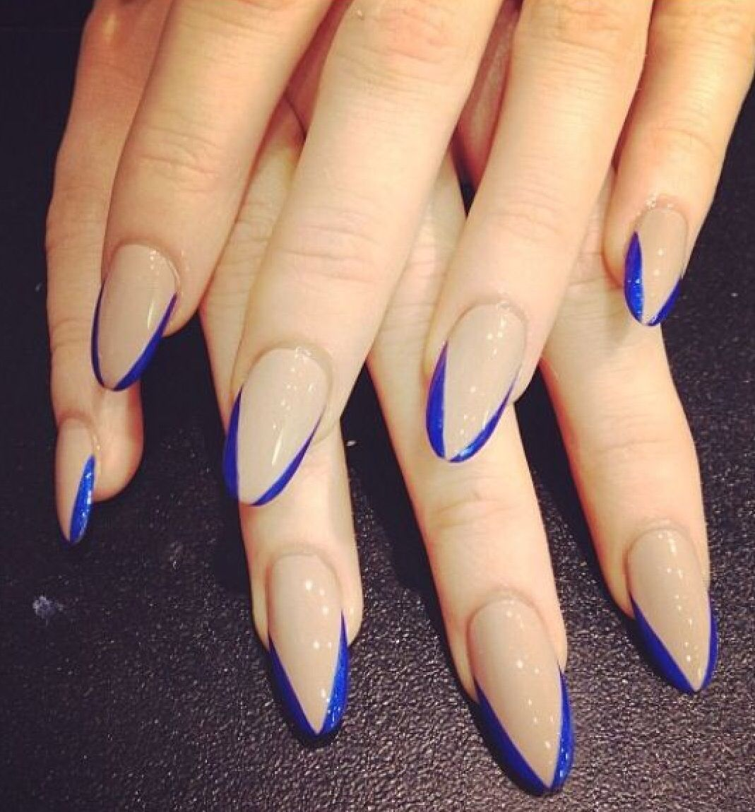 Think instead of blue, I\'d do red! These are pretty tho ...