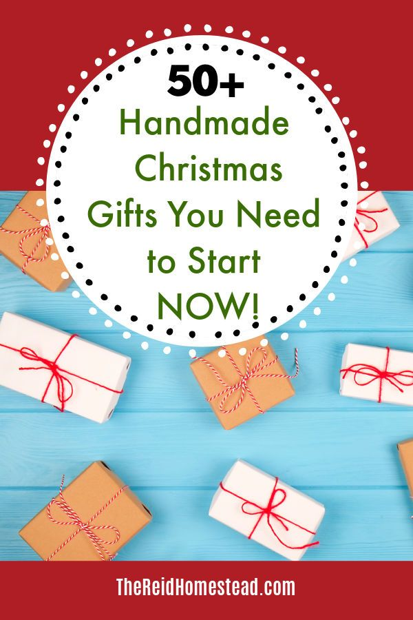 Looking for the perfect handmade Christmas gift ideas? Check out these ideas! #handmadegifts #homemadegifts #christmas #gifts #giftguide #thereidhomestead