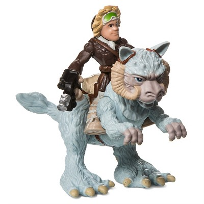 Star Wars Galactic Heroes Han Solo et Tauntaun Action Figure Toy