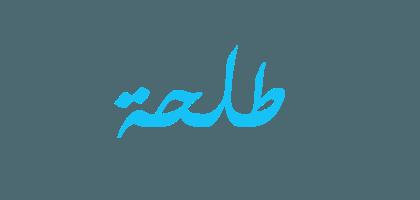 معنى اسم طلحة صفات حاملة اسم طلحة Arabic Calligraphy Calligraphy