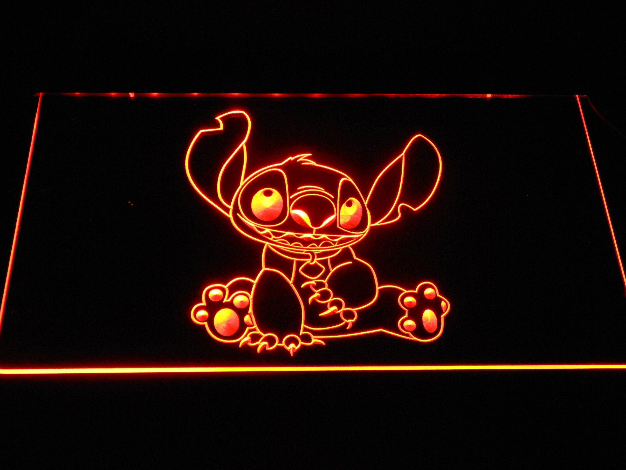 Stitch LED Neon Sign Neon signs, Led neon signs, Cool