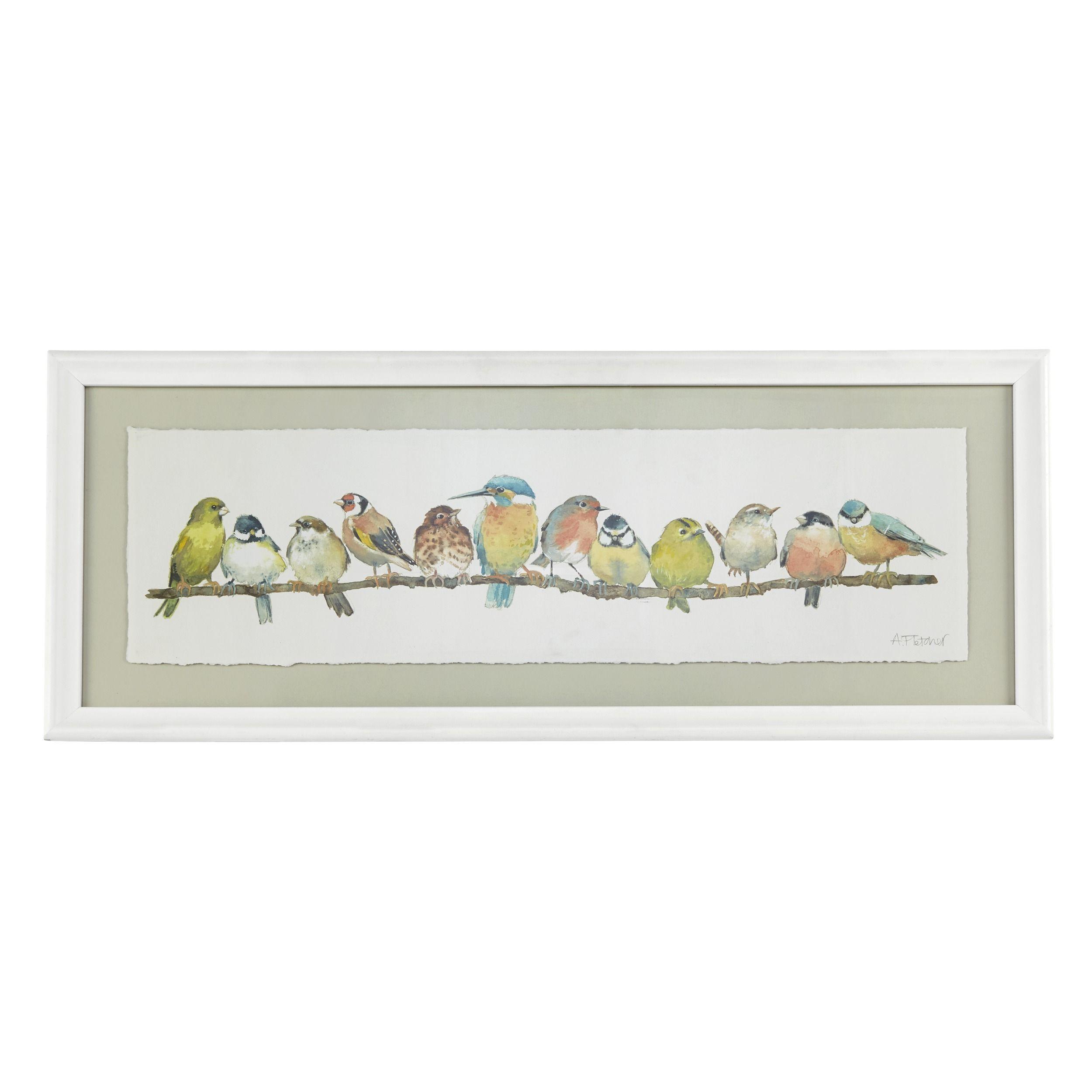 Garden Birds Framed Print at Laura Ashley | DIY crafts | Pinterest ...