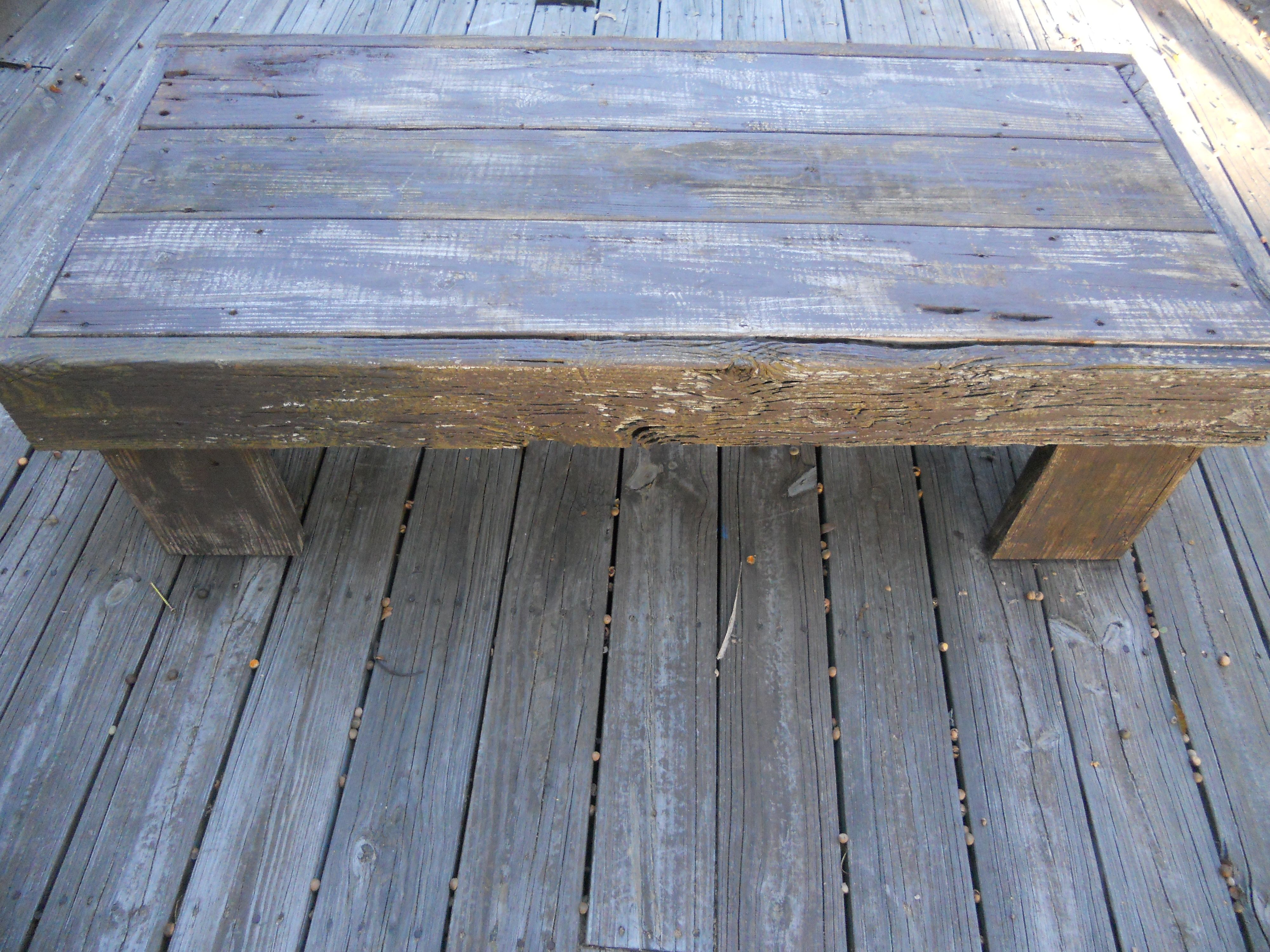 Very Impressive portraiture of Coffee table made from old dock wood. Table Pinterest with #475B84 color and 4000x3000 pixels