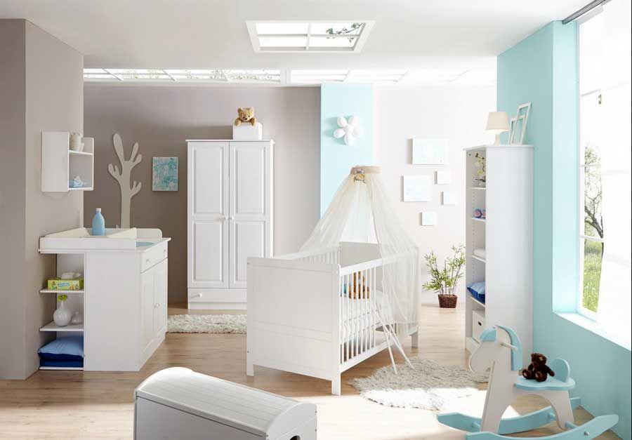 Babybett Design Mit Deckenleuchten Spots Babyzimmer Ideen
