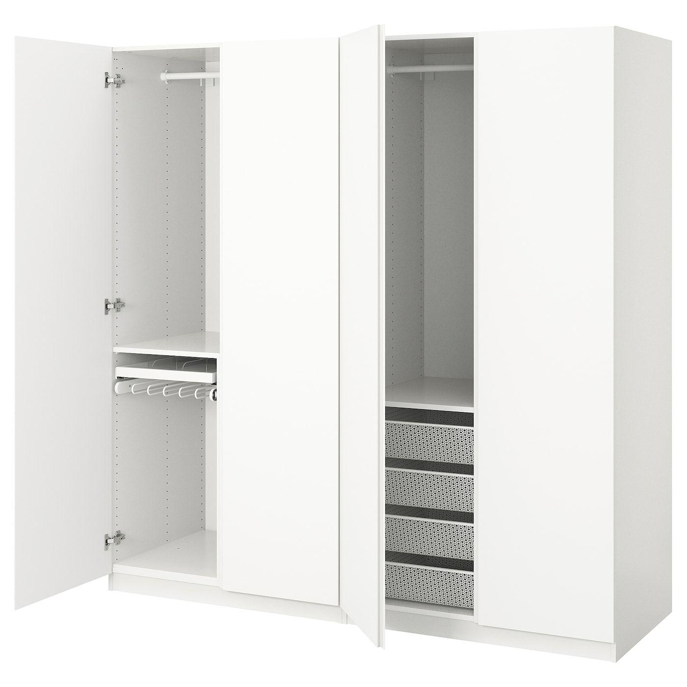 Wardrobe White Vikanes White 78 3 4x23 5 8x79 1 4 Pax