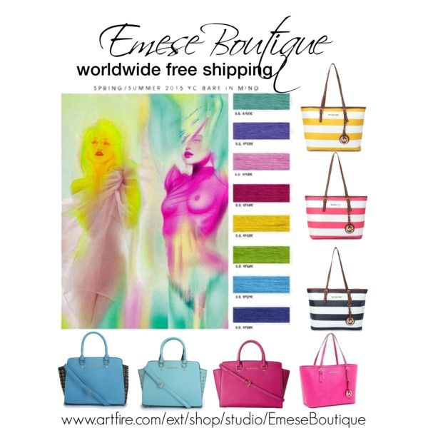 spring summer colors 2015 michael kors bags by emeseboutique on