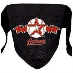 Houston Astros fan and dog lover? Your best friend deserves a Astros Dog Black Mesh Bandana. #HoustonAstro #DogLover